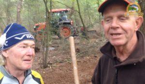Aanleg mountainbikeroute Meijel met Had en Ger